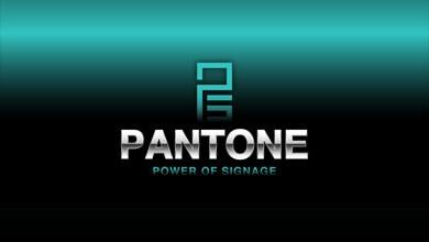 Pantone Signs Logo